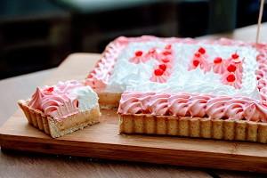 Citroen-Meringue taart