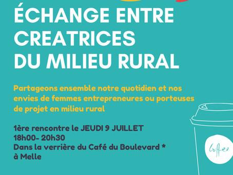 """1ère café-rencontre """"Femmes entrepreneures Sud Deux-Sèvres"""""""