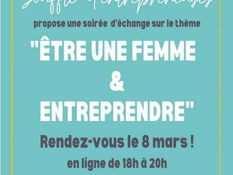 """Conférence-débat """"ETRE UNE FEMME ET ENTREPRENDRE"""""""