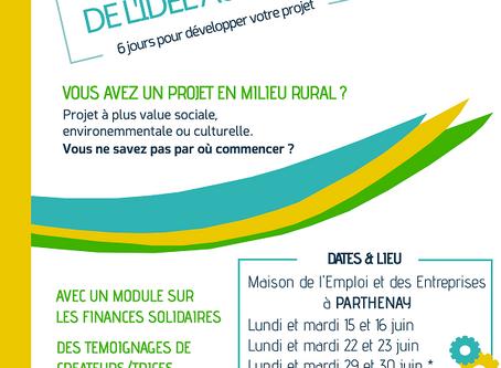 FORMATION DE L'IDEE AU PROJET, SESSION DE JUIN