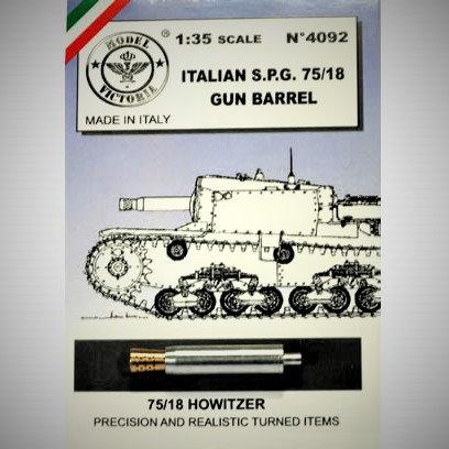 Cod. 4092 ITALIAN S.P.G. 75/18 GUN BARREL