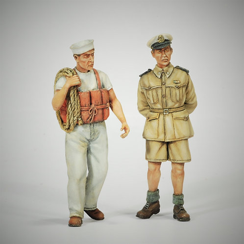Cod. 4068 ITALIAN NAVY OFFICER AND SAILOR