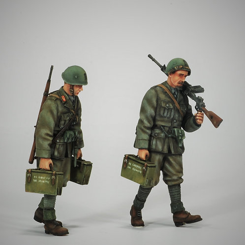 Cod. 4009 ITALIAN INFANTRY GOING ON