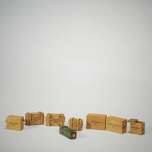 Cod. 4078 ITALIAN INFANTRY AMMUNITION BOXES