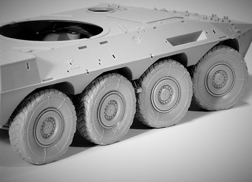 "Cod. 0005 WHEELS FOR B1 ""CENTAURO"""