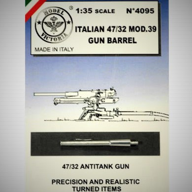Cod. 4095 ITALIAN 47/32 MOD. 39 A.T. GUN BARREL