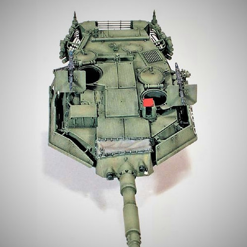 "Cod. 0003 ""MIKREX"" ADD-ON ARMOURS FOR B1 ""CENTAURO"""