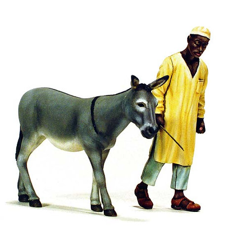 Cod. 4048 NORTH AFRICAN MAN WITH DONKEY