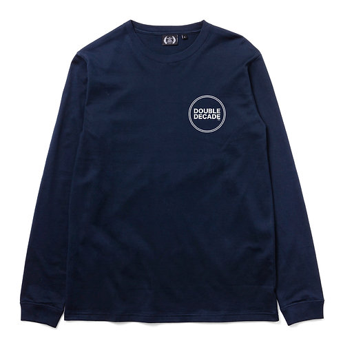 FTY-16-050 DOUBLE DECADE CIRCLE L/S TEE
