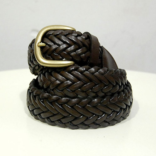 OUTPUT LA124-C Leather mesh Belt