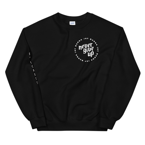 Never Give Up Crew Neck