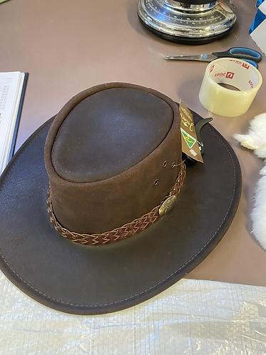 Jacaru hat leather