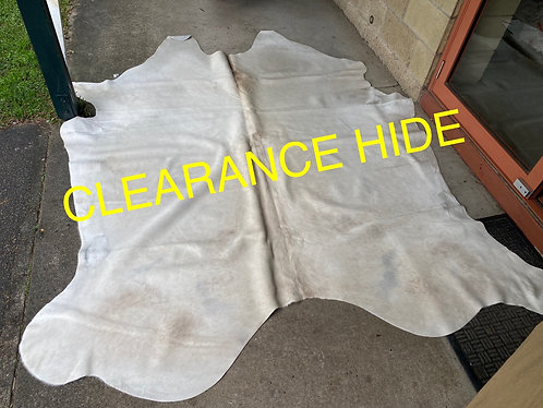 Clearance hide $100 (only valid with any other cowhide purchase
