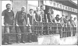 Lyrestads Gjuteri har tillverkat gjutjärn sedan 1955
