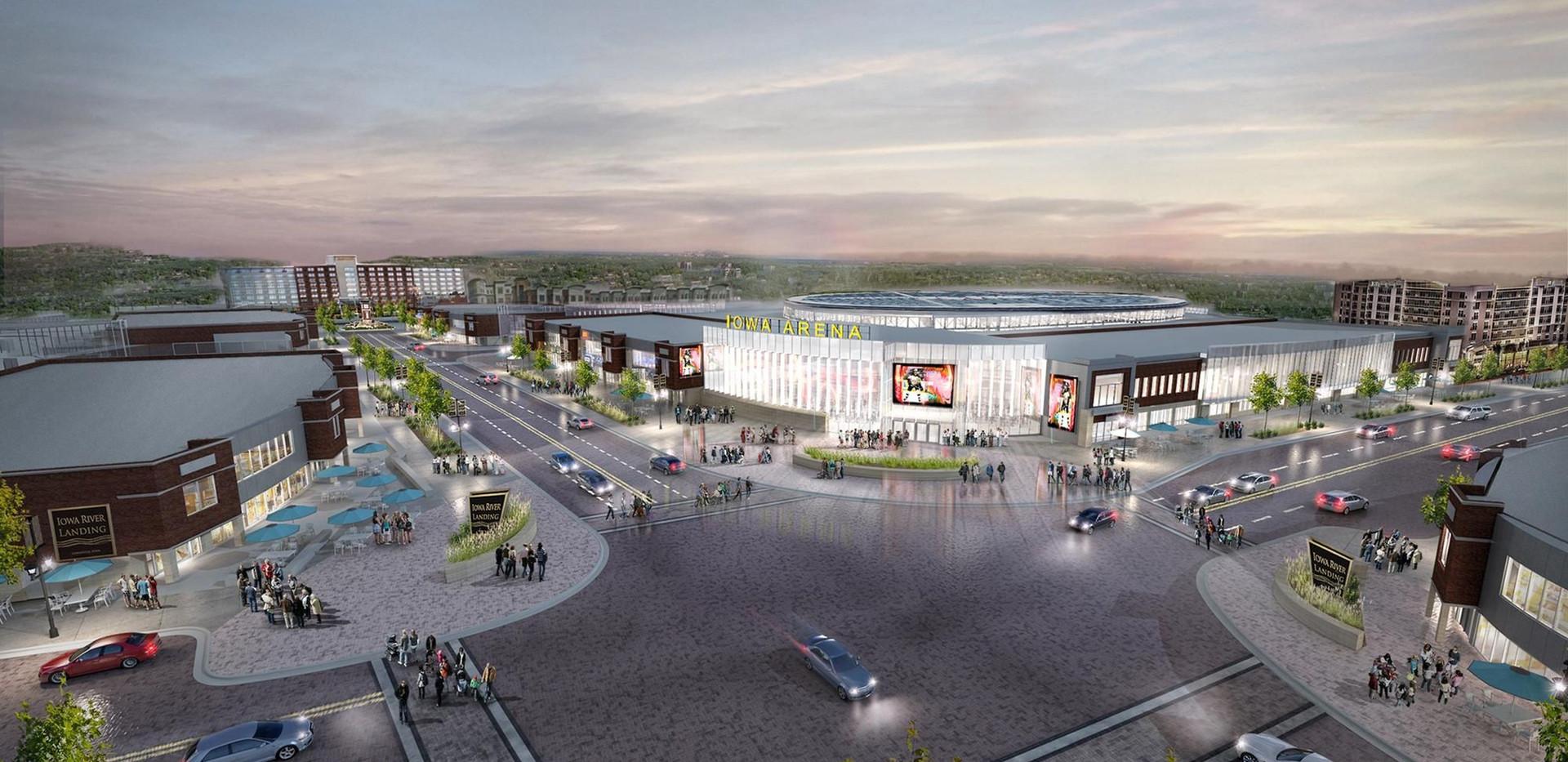 Coralville's Iowa Arena