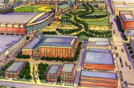 Erie Civic Center Masterplan and Convention Hotel