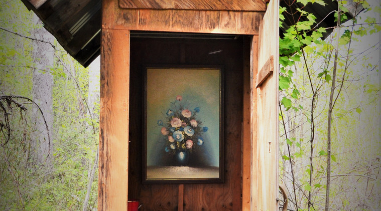 Wild Rose Outhouse