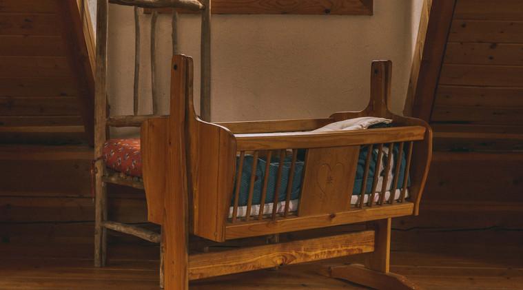 Upstairs cradle