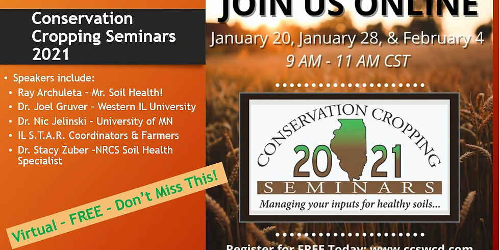 2021 Conservation Cropping Seminars