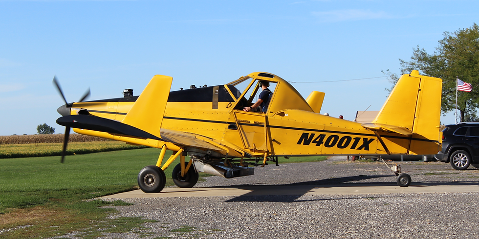 Cover Crop Field Day and Aerial Seeding Demonstration