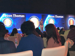 Jason Thomas speaks at CryptoCurrency Conference in Jeju Island, South Korea