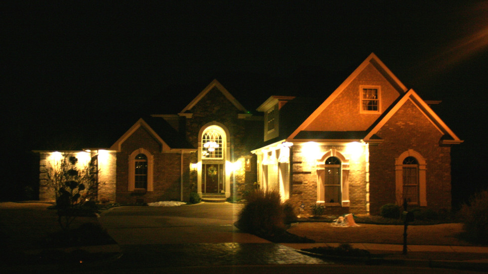 Custom Homes lighting and design