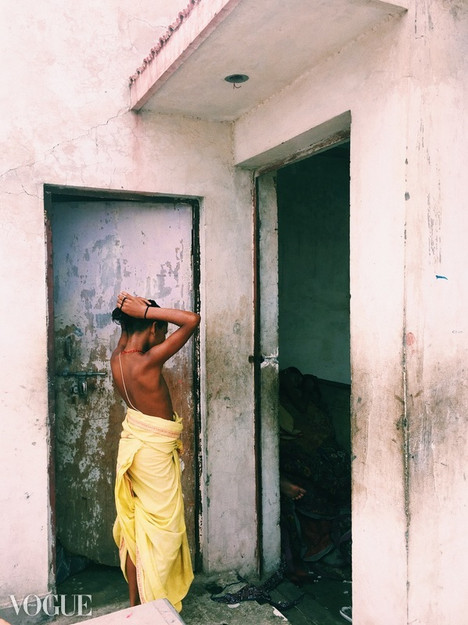 Sonny in Varanasi