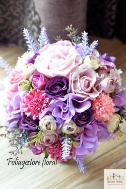 紫色系列_絲花球15