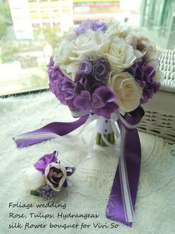 紫色系列_絲花球31