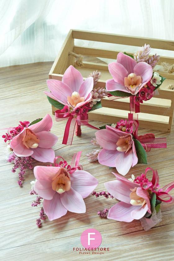蕙蘭襟花 Orchid corsages