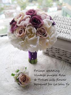 紫色系列_絲花球34