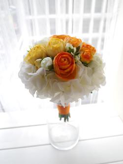 橙黃及香檳色系列_絲花球39