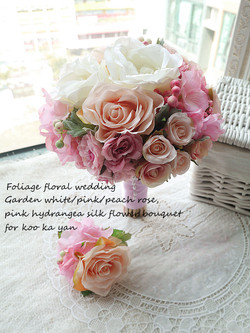 粉色系列_絲花球051