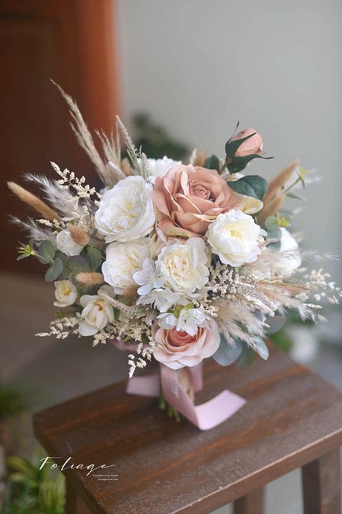 庭園玫瑰絲花球 - Wooden 森 系列