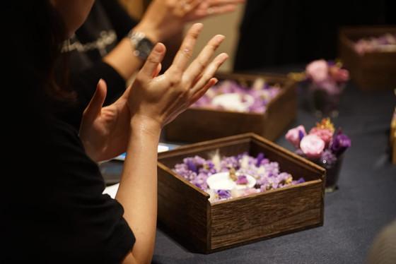 花盒禮品裝飾 x 按摩蠟燭 x 體驗工作坊💜