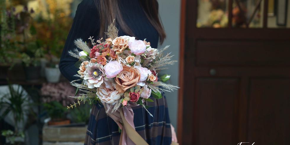 01. Artificial Wedding Bouquet 新娘絲花球班