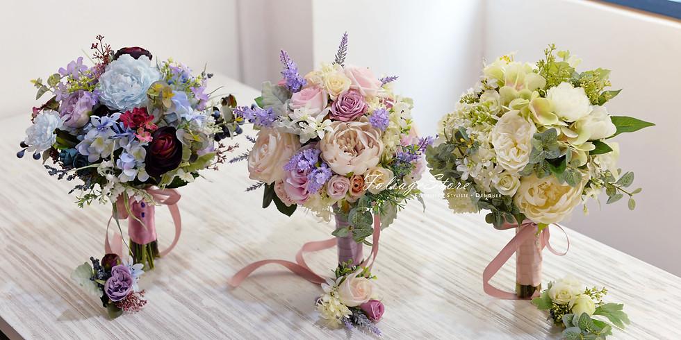 ∞ 01. Artificial Wedding Bouquet 新娘花球班  ∞