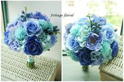 藍色系列_絲花球39