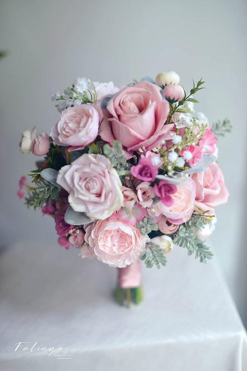 玫瑰絲花球 -  Dusty Pink 系列