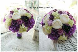 紫色系列_絲花球55