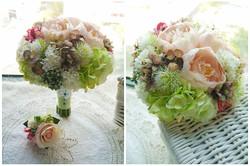 白綠色系列_絲花球24