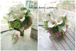 白綠色系列_絲花球25
