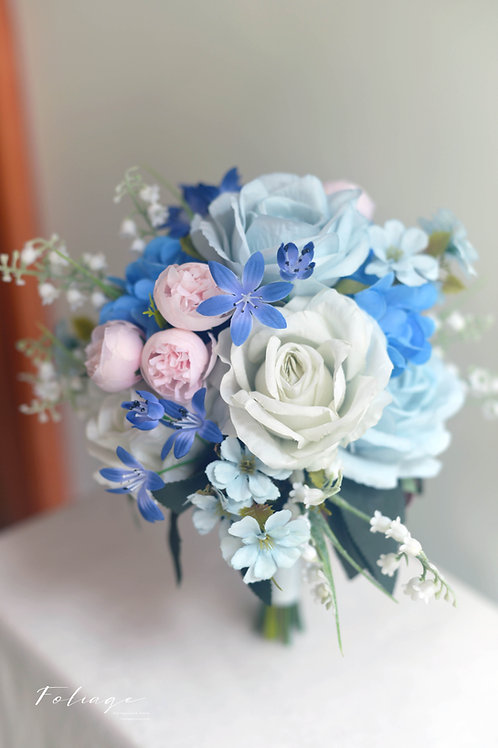 "玫瑰絲花球 - LAKE BLUE 系列 (7"")"