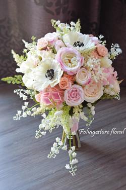 粉色系列_絲花球027