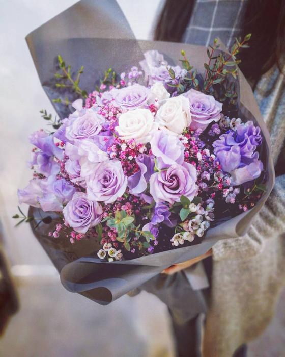 紫色花束誘惑 purple bouquet