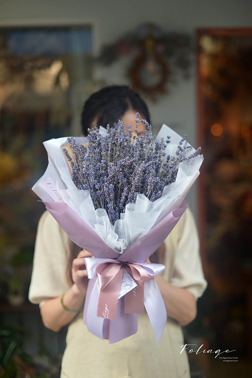 Lavender 純淨紫 .....乾花束