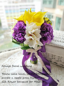 紫色系列_絲花球43