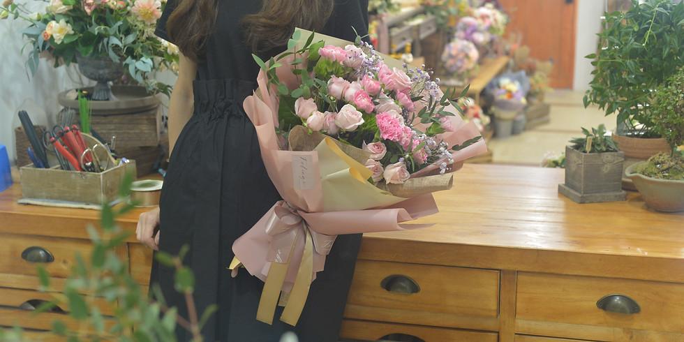 03.  Fresh Gift Bouquet  精緻鮮花束班