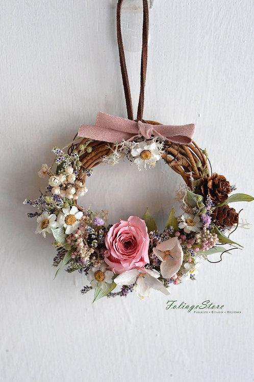 Handmade Wreath w/ preserved flower