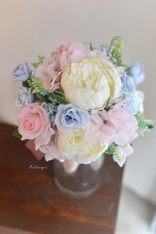 牡丹玫瑰絲花球 - Pink Creamy